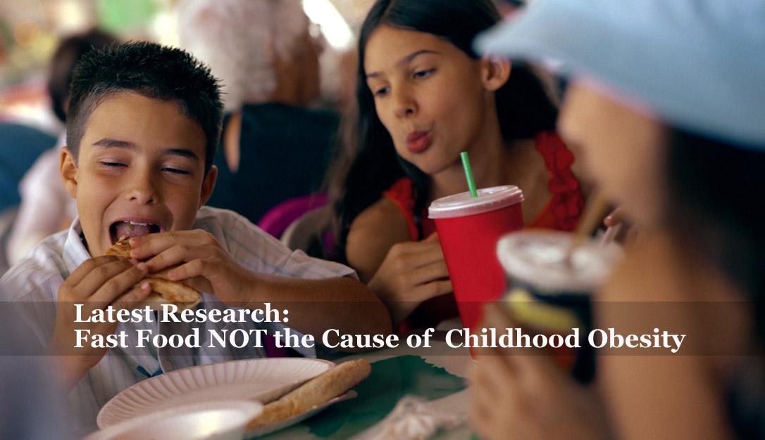 Fast Food Obesity Children Fast Food NOT t...