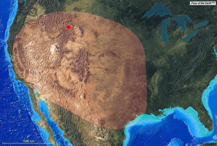 Mega Volcano In Yellowstone Soon